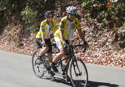 Franz and Ann on Tandem