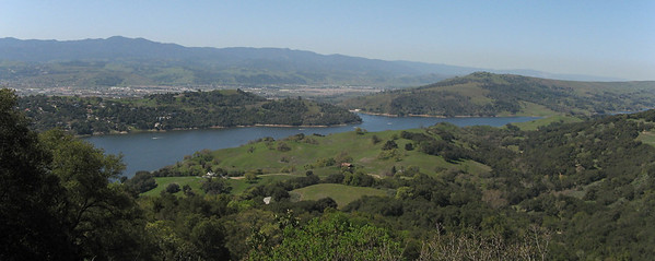 Lake Anderson from Henry Coe